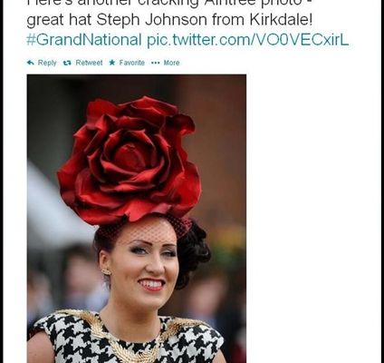 Liverpool Echo (@LivEchonews). Hat By Janice Charles